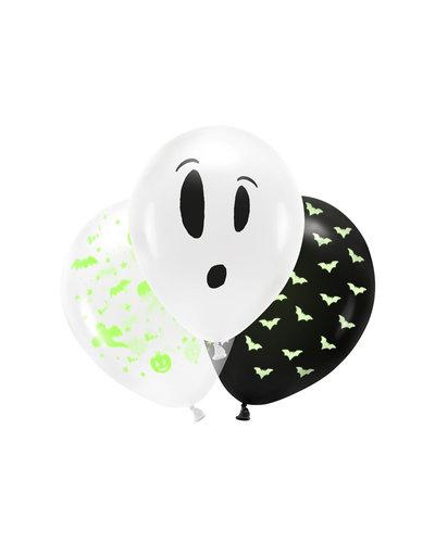 Halloween Schwarzlicht Luftballons