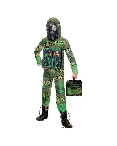 Amscan Quarantäne Zombie Alien Kostüm für Kinder