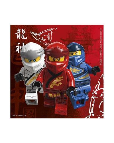 20 Ninjago Servietten 33 x 33 cm