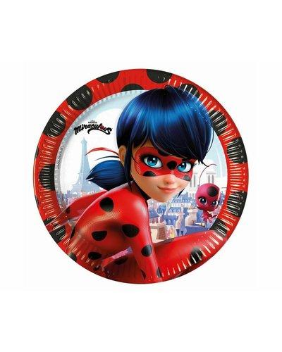 Große Teller Miraculous Ladybug
