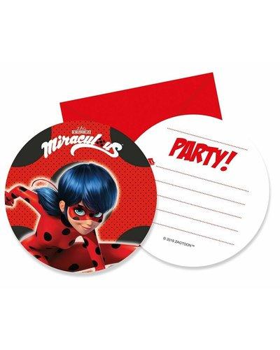 Einladungen Miraculous Ladybug