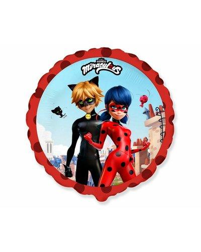 Miraculous Ladybug & Cat Noir Folienballon - Street