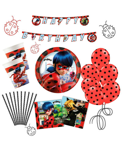 Miraculous Ladybug Partyset