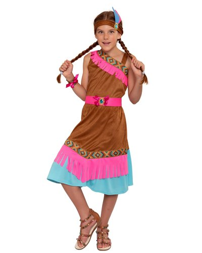 Magicoo Indianer Kostüm für Mädchen