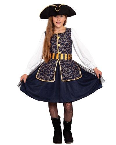 Magicoo Elegante Piratin Kostüm für Mädchen
