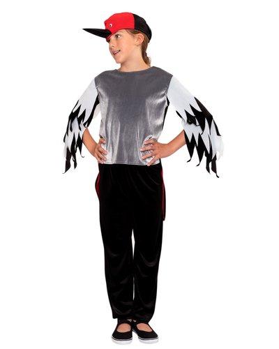 Magicoo Vogelkostüm Specht Kostüm für Kinder