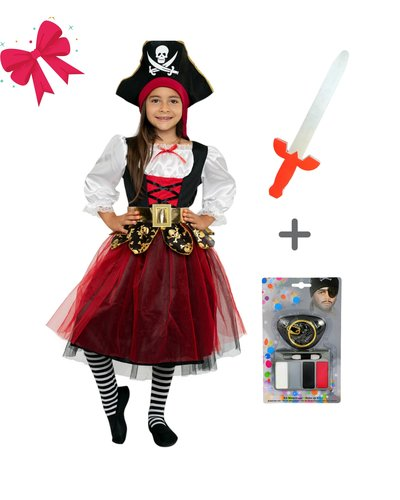Magicoo Geschenkset für Mädchen - Piraten Prinzessin