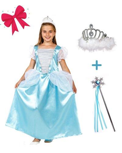 Magicoo Geschenkset für Mädchen - blaue Prinzessin