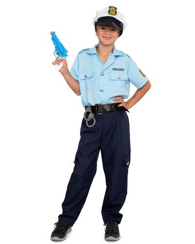 Magicoo Deutscher Polizist Kostüm für Kinder