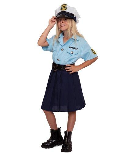 Magicoo Deutsche Polizistin - Kostüm für Mädchen