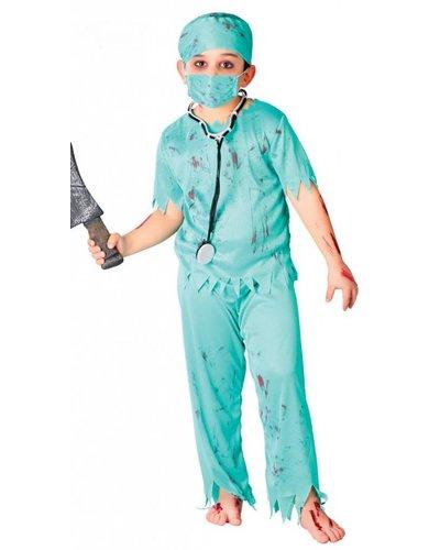 Magicoo Zombie Kostüm Doktor Chirurg für Kinder