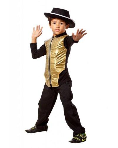 Magicoo Michael Jackson Kostüm gold-schwarz