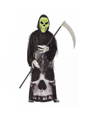 Amscan Sensenmann Kostüm mit Maske für Kinder
