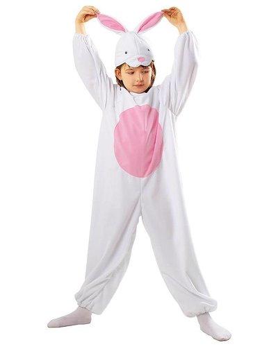 Magicoo Kinderkostüm Hase weiß-rosa