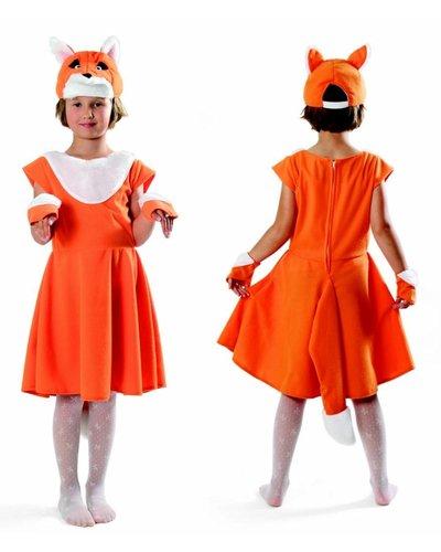 Magicoo Fuchs Kostüm Kinder - Mädchen