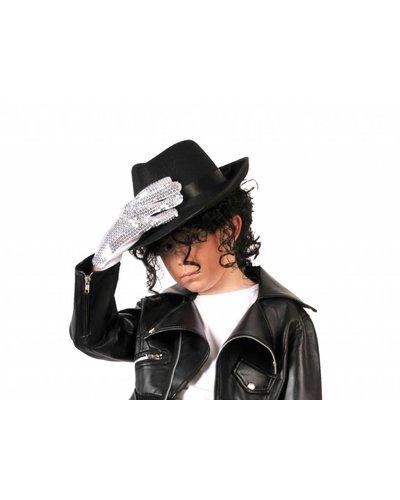 Magicoo Schwarze Perücke- Michael Jackson Perücke