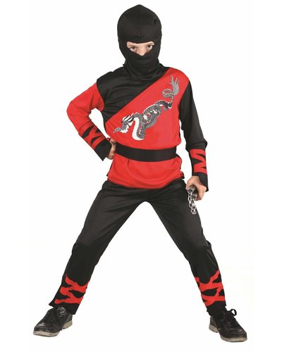 "Magicoo Ninja-Kostüm ""Dragon"" für Kinder"