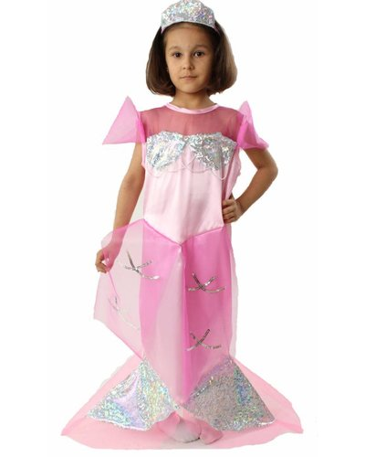 Magicoo Meerjungfrauen Kostüm Kind rosa