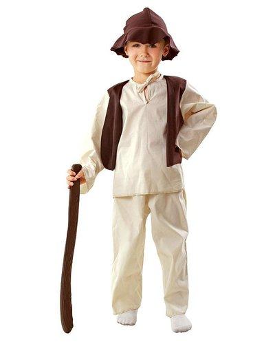 Magicoo Schäfer Hirten Kostüm Kinder Krippenspiel