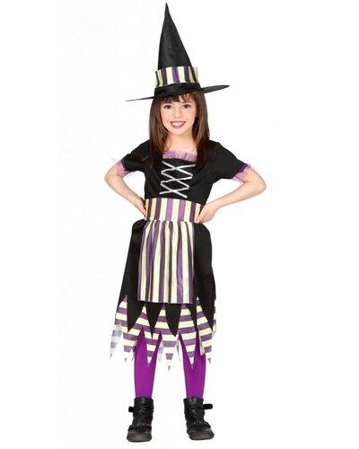 Magicoo Hexe Kostüm Kind