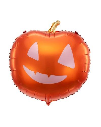 Halloween Folienballon Kürbis orange 40x40cm