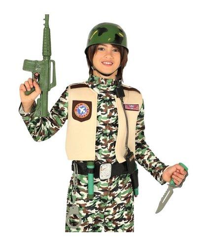 Magicoo Militär Soldaten-Set  mit Helm für Kinder