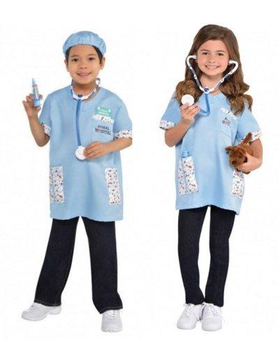 Amscan Kostüm Set Tierarzt / Tierärztin für Kinder