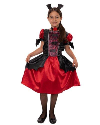 Kleine Vampirin Kostüm für Kinder