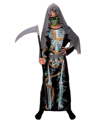 Kettenskelett Kostüm für Kinder Jungen
