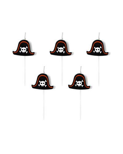 Magicoo 5 Kerzen für Piratenparty