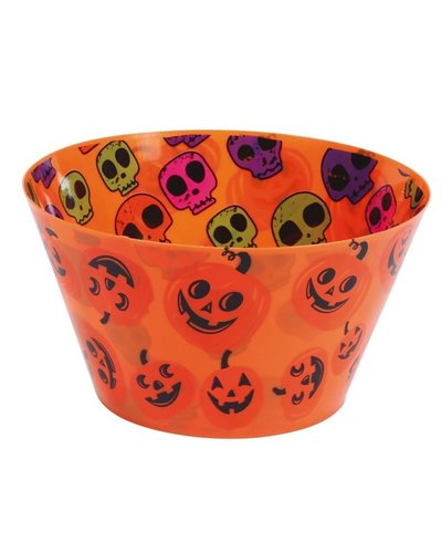 Magicoo Halloween Deko Schüssel orange