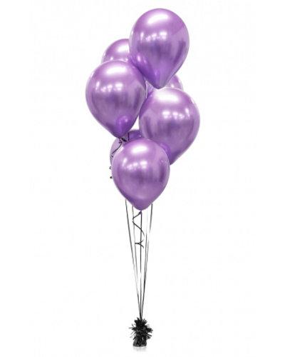 Magicoo 7 Glossy Satin Luftballons lila