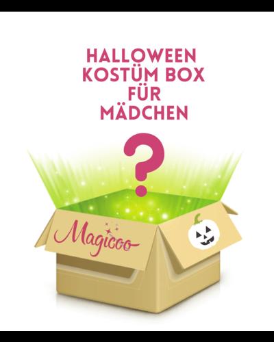 Magicoo Kostümpaket mit 4 Halloween Kostümen Mädchen
