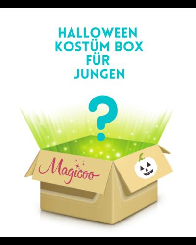 Magicoo Kostümpaket mit 4 Halloween Kostümen Jungen