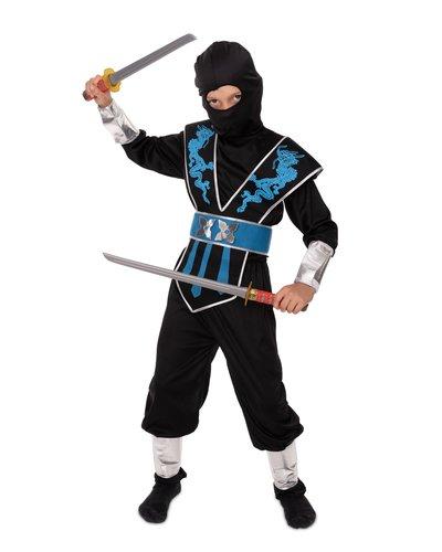 Magicoo Schattenkrieger Ninja Kostüm für Kinder