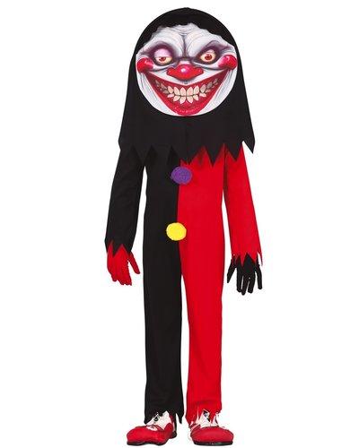 Magicoo Halloween Clown Kostüm für Kinder Jungen