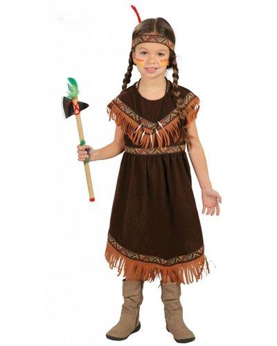 Magicoo Indianerin Kostüm Kind