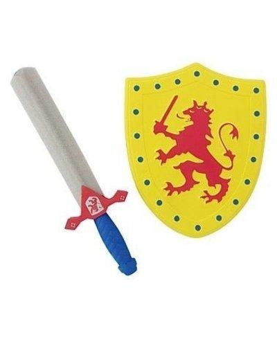 Magicoo Schild und Schwert Gelb