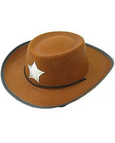 Magicoo Cowboyhut für Kinder braun