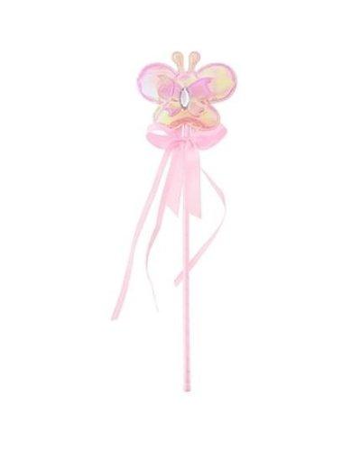 Magicoo Schmetterling Zauberstab Rosa mit Licht
