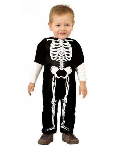 Magicoo Skelett Kostüm für Babys und Kleinkinder