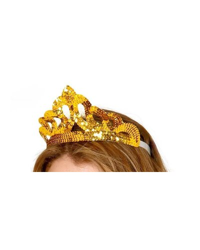 Magicoo Goldene Tiara