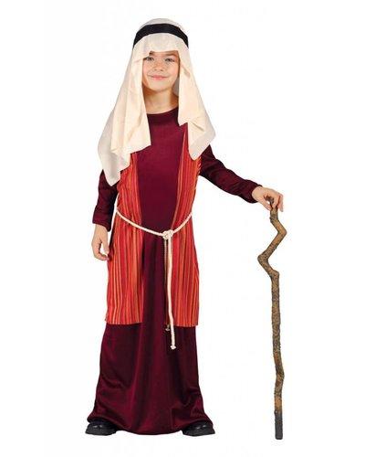 Magicoo Josef Kostüm Kind Krippenspiel rot