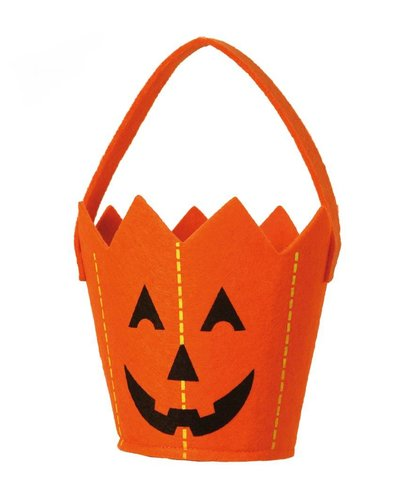Magicoo Halloween Kürbis Eimer /  Korb für Kinder