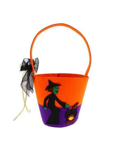 Magicoo Halloween Eimer / Hexenkorb für Kinder
