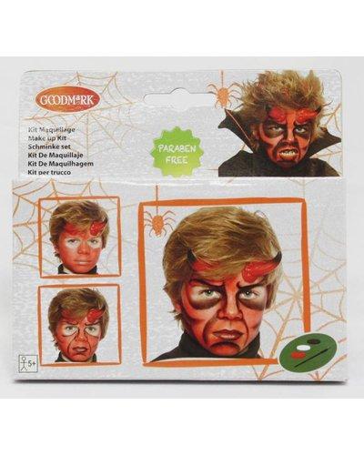Magicoo Schminkset Teufel / Teufelin für Halloween
