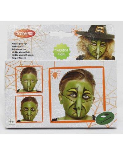 Magicoo Schminkset Hexe für Halloween