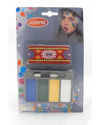 Magicoo Schminkset mit Haarband für Indianer