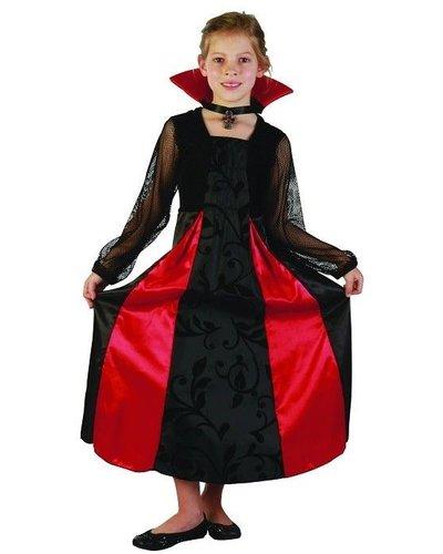 Magicoo Vampirin Dracula Kostüm Kinder - Vampir Kostüm für Mädchen
