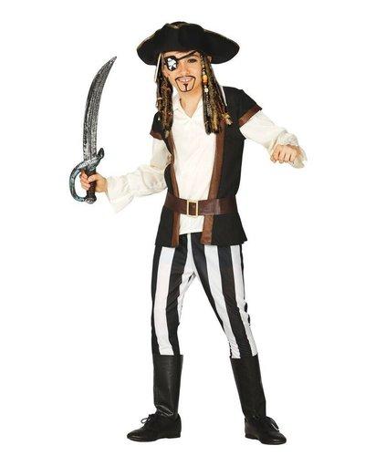 Magicoo Piratenkostüm Kind Jack Sparrow